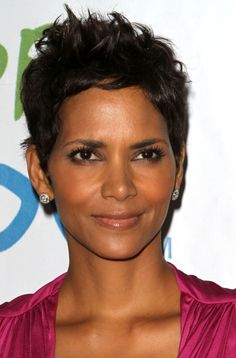 Halle Berry owns her super-short hairstyle