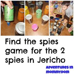 Joshua and the battle of Jericho game