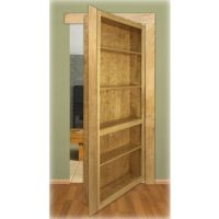 Maple InvisiDoor Shelving Unit Kit - Rockler.com. Create your own secret passageway! doors, hous shop, bookcases, bookcas shelv, shelving units, woodworking tools, basement idea, cherries, hous dream
