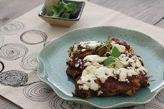 Sweet Potato and Tofu Enchiladas with Mole Sauce Recipe
