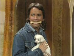 """John Ritter. (Here in a scene from """"Three's Company.)"""