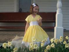 Flower Girl Dress $55