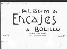 2 ALBUM DE ENCAJES AL BOLILLO antiguos – Picasa tīmekļa albumi