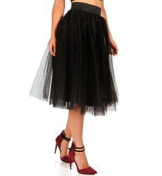 tulle skirt... want