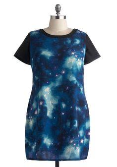 My Moon, My Plan Dress in Plus Size, #ModCloth