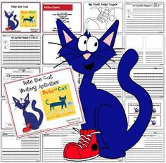 Pete the Cat Writing Activities