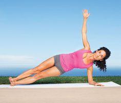 planks, yoga ab, fit, jennifer aniston, flat abs, yoga moves, flats, health, side plank
