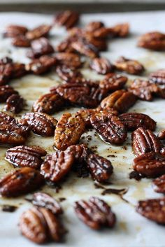 Chipotle Pecans.  By far the best I've tried.  I could not stop eating them! So good for a snack, to top a salad with, on top of sweet potatoes, etc.