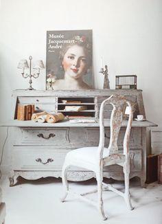 Gustavian style study |Gustav Interiors