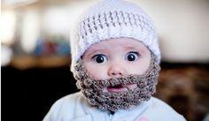 Bobble Crochet Beard Beanies