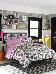 Teen Vogue Punky Sweethearts Comforter Set