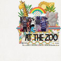 At the zoo - Scrapbook.com