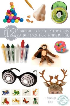 12 Silly Stocking Stuffers for Kids Under 10 Dollars