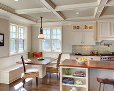 Kitchen Island With Attached Table Design, Pictures, Remodel, Decor and Ideas - page 7