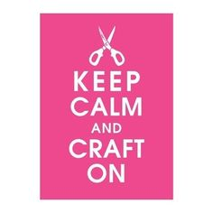 keep calm frame