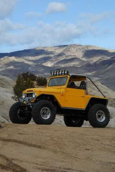 FJ40......need one of these