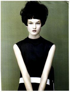 Vogue Italia Beauty August 2011 : Kirsi Pyrhonen : Josh Olins