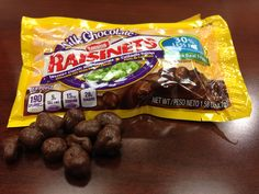 I heard through the grapevine that pouches of Raisenets now feature front of pack calorie information and more.