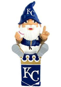 Kansas City Royals Gnome On Team Logo