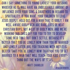 Powerful words from Matt Chandler!!!!