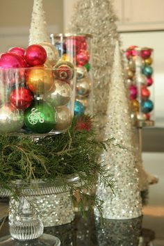 Christmas Decorating Ideas - table