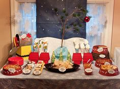 charlie brown - cute idea for kids table