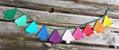 Hooking Crazy: Christmas Tree Bunting