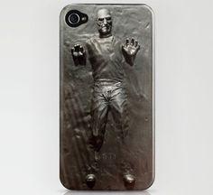 Steve Jobs in Carbonite iPhone Case