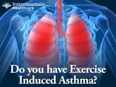 If you experience asthma symptoms during exercise, it's possible you might have Exercise Induced Asthma. Here are the details: http://intermountainhealthcare.org/blogs/2014/01/exercise-induced-asthma-and-winter-sports/ #Asthma #Exercise #LungDisease #Health