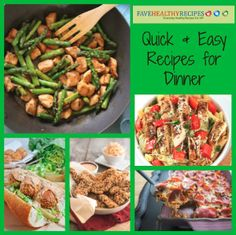 10 Healthy Easy Fast Dinner Recipes Under $3