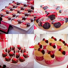 Minnie Mouse Party Theme Ideas | Minnie Mouse Party with So Many Really Cute Ideas via Kara's Party ...