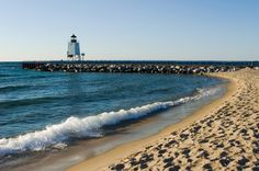 Lake Michigan - number 8 on list of top 10 lakes in the United States