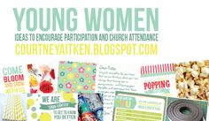 All Things Bright and Beautiful: Young Women Presidency Activation Ideas