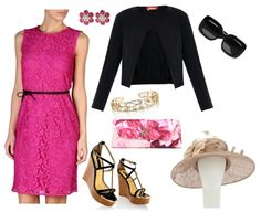 Outdoor Wedding Guest Outfit Idea
