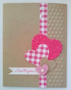 valentin card, handmade valentine cards, card idea, valentine day cards, valentine's cards, heart design, handmad valentin, cards handmade, heart cards