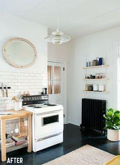 seriously amazing diy kitchen makeover   manhattan nest