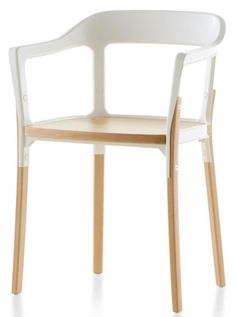 Steelwood Chair by #