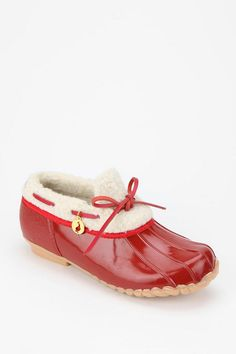 Cold weather classic #urbanoutfitters #sporto #rubber #sherpa #ankleboot