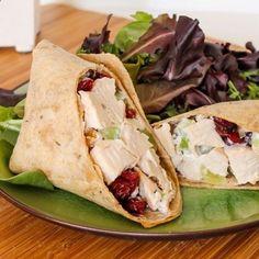Sonoma Chicken Salad Wraps ~ Just tasty recipes