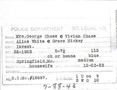 ID Card for Wichita, KS mug shot