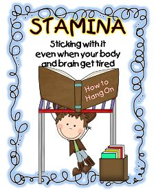 Daily five - practice building stamina