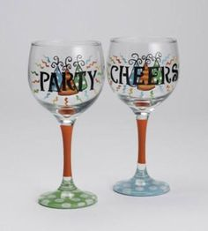 FolkArt® Enamel Party Glasses