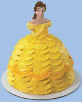 Disney Princess- Belle Petite Doll Cake Topper