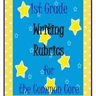 This free download includes rubrics for the first grade common core standards including a opinion piece, a narrative and an informative/explanatory...