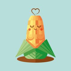 How to Create a Cute Corn Illustration with Basic Shapes in Illustrator - Tuts+ Design & Illustration Tutorial