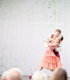 ballet, photo via asunto e