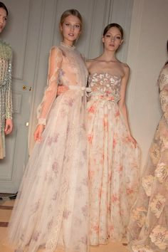 Valentino Spring 2012 Couture - Behind the Scenes  amazing fabrics