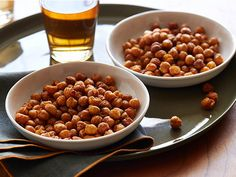 Spicy Baked Chickpeas Recipe : Claire Robinson : Food Network - FoodNetwork.com