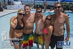 Therapy Pool Party; every Sunday this summer at hotel BLUE! Add this to your summer to-do list!
