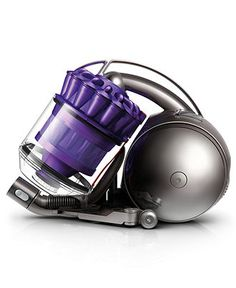 For easy cleaning: Dyson DC39 Animal Canister Vacuum BUY NOW!